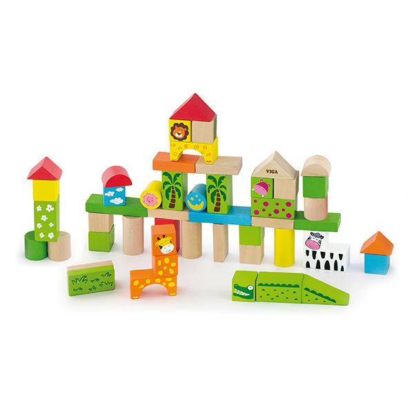 Shape Sorting Puzzle 59235 Clock Viga Toys